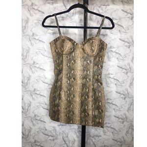 Dresses & Skirts - Snakeskin Dress